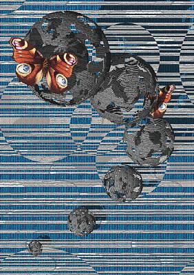 Cosmos Art Print by Haruo Obana