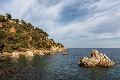 Costa Brava Coastline In Spain Art Print