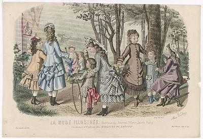 Costumes D'enfants. Art Print by Celestial Images