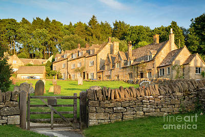 Photograph - Cotswolds Evening by Brian Jannsen