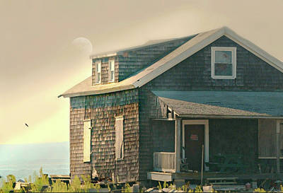 Photograph - Cottage On The Sound by Diana Angstadt
