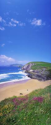 Photograph - Coumeenoole Beach, Dingle Peninsula, Co by The Irish Image Collection