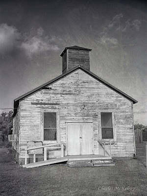 Photograph - Country Church by Charles McKelroy