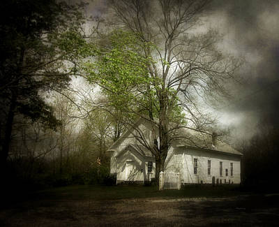 Photograph - Country Church by Cynthia Lassiter