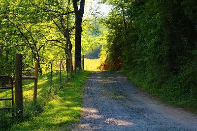 Photograph - Country Lane by Kathryn Meyer