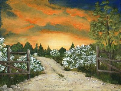 Painting - Country Road by Anastasiya Malakhova