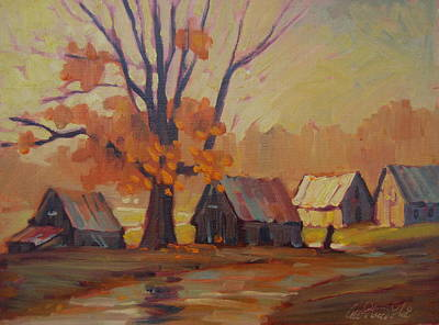 Painting - Country  Road by Len Stomski