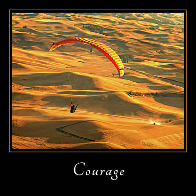 Photograph - Courage 1 by Mary Jo Allen