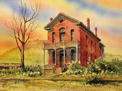 Courthouse Bannack Ghost Town Montana Art Print by Kevin Heaney