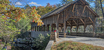 Photograph - Covered Bridge by Jane Luxton