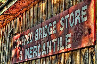 Covered Bridge Store And Mercantile Original by Jason Blalock