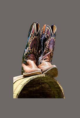 Photograph - Cowboy Boots  by Pamela Walton