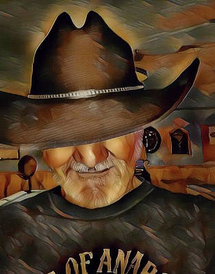 Digital Art - Cowboy by Robert Smith
