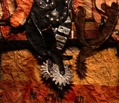 Bull Riders Photograph - Cowboy Spurs by Susanne Van Hulst