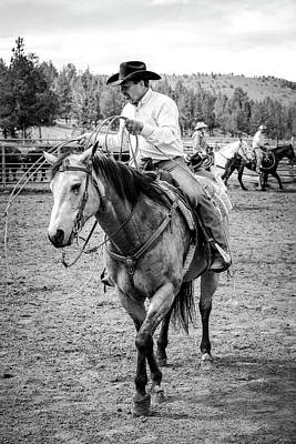Photograph - Cowboy Wrangler by Athena Mckinzie