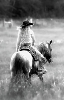 Photograph - Cowgirl's Ride IIi by Athena Mckinzie