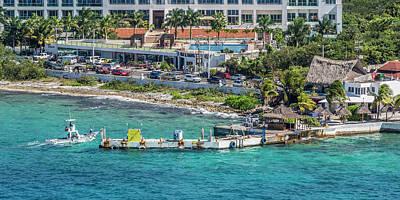 Cozumel Wall Art - Photograph - Cozumel Coastline  by Betsy Knapp
