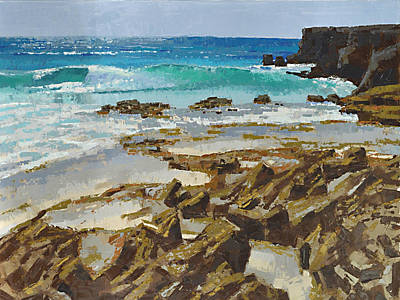 Painting - Cozumel East In The Morning by Stephen Bartholomew