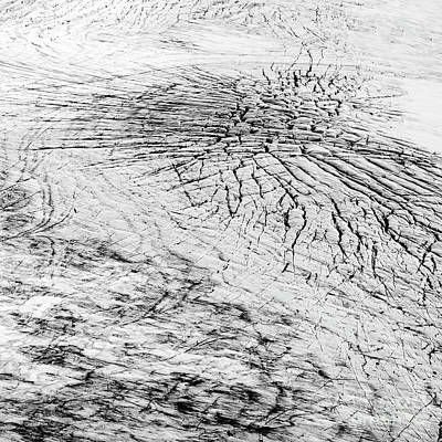 Photograph - Cracks In A Glacier by Gunnar Orn Arnason