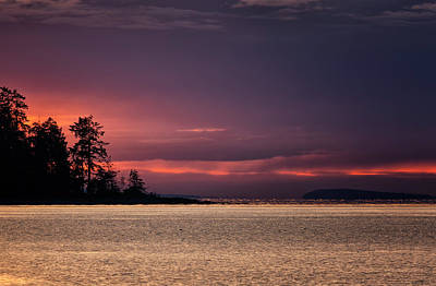 Photograph - Craig Bay Sunset by Randy Hall