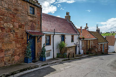 Photograph - Crail Harbour In Fife by Jeremy Lavender Photography