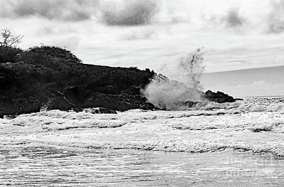 Photograph - Crashing Wave by Mary Haber