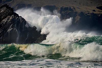 Photograph - Crashing Waves by Barbara Walsh