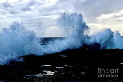 Photograph - Crashing Waves by Craig Wood