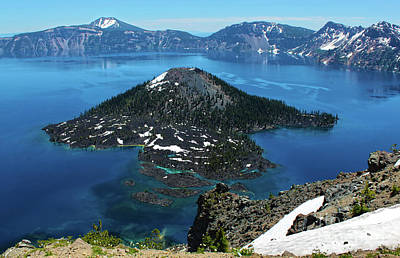 Photograph - Crater Lake  by Gregory Dyer