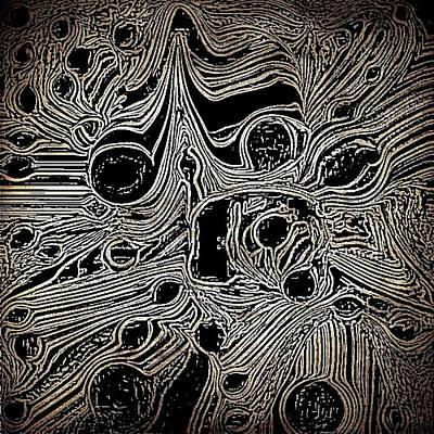 Etc. Mixed Media - Crazy by HollyWood Creation By linda zanini