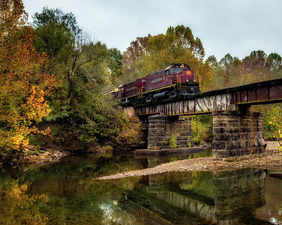 Photograph - Creek Crossing by James Barber
