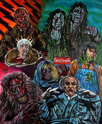 Creepshow Art Print by Jose Mendez