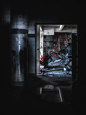 Photograph - Creepy Abandoned Building by Dylan Murphy