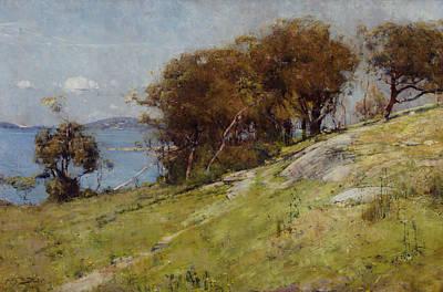 Australian Landscape Painting - Cremorne Pastoral by Arthur Streeton