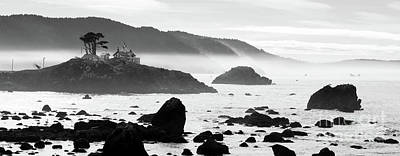 Crescent City California Pacific Coast Battery Point Lighthouse Art Print