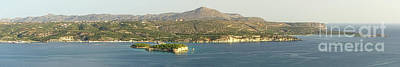 Crete Panoramic Art Print by HD Connelly