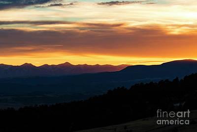 Photograph - Cripple Creek Sunset by Steve Krull