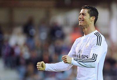 Athletes Royalty-Free and Rights-Managed Images - Cristiano Ronaldo 28 by Rafa Rivas