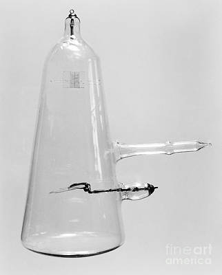Maltese Photograph - Crookes Type Discharge Tube, Late 19th by Wellcome Images