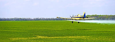 Photograph - Crop Dusting by Charlie Brock