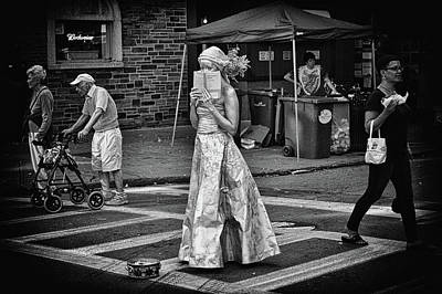 Photograph - Crossing by Marvin Borst