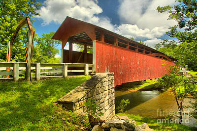 Photograph - Crossing Over The Juniata River by Adam Jewell