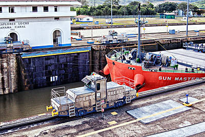 Photograph - Crossing Panama Canal by Tatiana Travelways