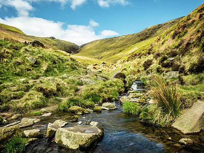 Photograph - Crowden Clough by Nick Bywater