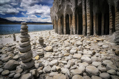 Photograph - Crowley Columns by Cat Connor