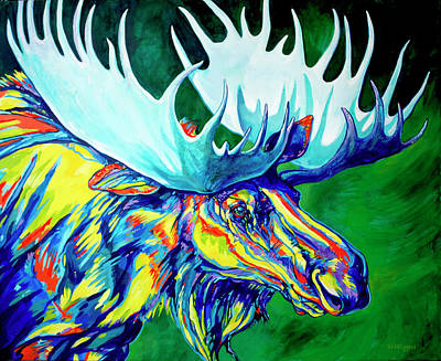 Wyoming Painting - Crown Of Thorns by Derrick Higgins