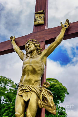 Photograph - Crucifixion Of Jesus by Adrian Evans