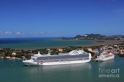 Photograph - Cruise Port by Gary Wonning