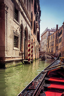 Photograph - Cruising Venice by Andrew Soundarajan