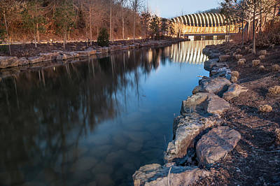 Photograph - Crystal Bridges Museum Of American Art Reflections by Gregory Ballos